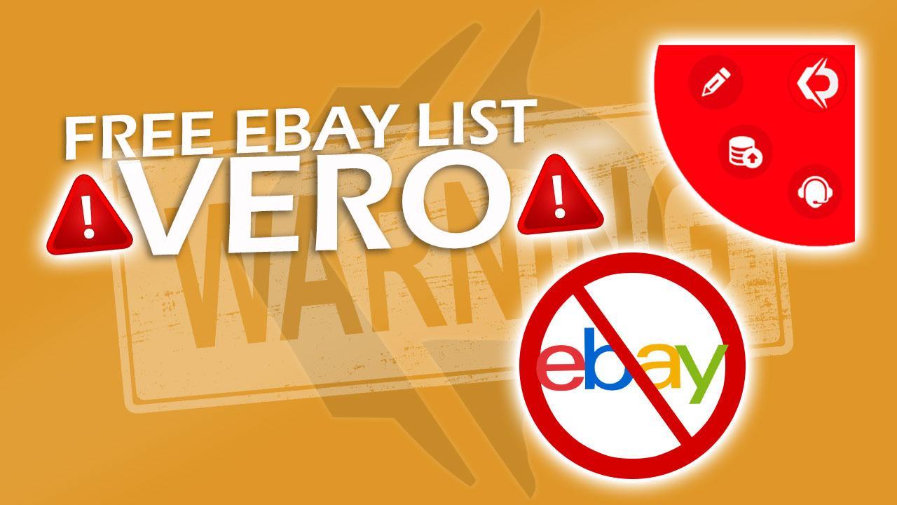 Free eBay VeRO List