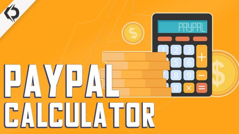 PayPal calculator