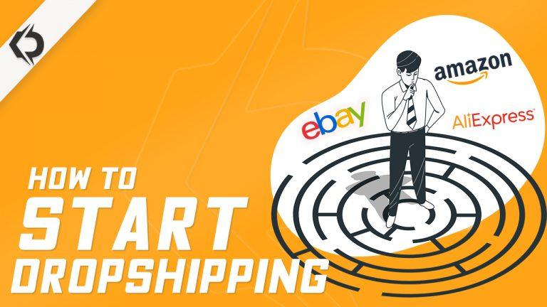 start dropshipping